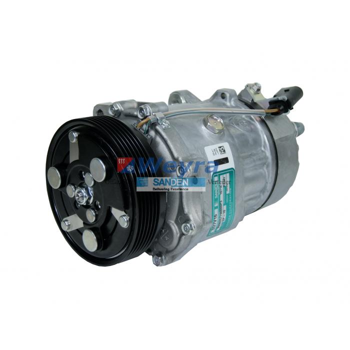 Sanden Nr.: SD7V16-80RE; SD7V16-1106... instandgesetzt Klimakompressor Sanden